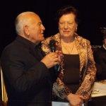 <p>Enzo G. Castellari e Rina Gambini</p>