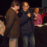 <p>Il giornalista Claudio Baroni e Giampiero Rigosa</p>